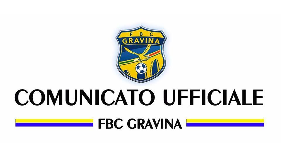 COMUNICATO STAMPA: Lanotte e Fonte, due under in casa FBC Gravina
