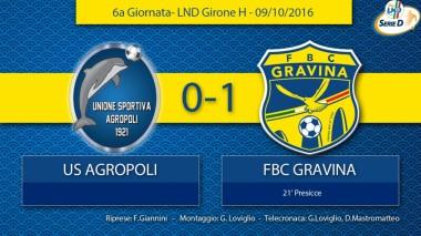 6° Campionato - Agropoli - FBC Gravina