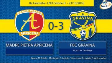 8° Campionato - Madre Pietra - FBC Gravina
