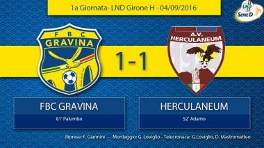 1° Campionato - FBC Gravina - Herculaneum