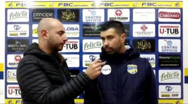 Intervista a mister De Luca, post partita FBC Gravina- Nocerina