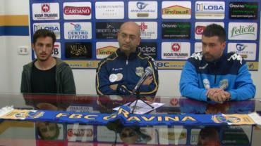 La conferenza stampa di presentazione di Antonio Liberio