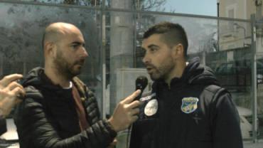 Intervista a Mister De Luca, post partita Trastevere- FBC Gravina