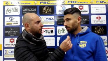 Intervista a Cerone, post partita FBC Gravina- Nocerina