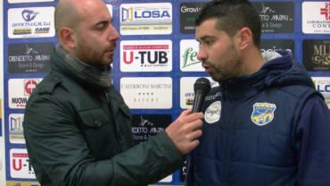 Intervista a mister De Luca, post partita FBC Gravina- Potenza