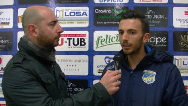 Intervista a Mazzilli, post partita FBC Gravina- Potenza