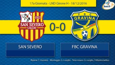 17a Giornata- LND Girone H: San Severo- FBC Gravina
