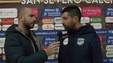 Intervista a Mister De Luca, post partita San Severo – FBC Gravina