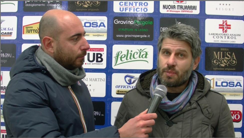 Intervista al direttore sportivo Angelastro post partita FBC Gravina – Anzio Calcio