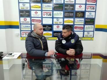 Intervista a Mister De Luca, post partita FBC Gravina- Francavilla