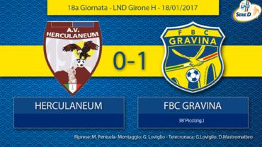 18a Giornata- LND Girone H: Herculaneum- FBC Gravina