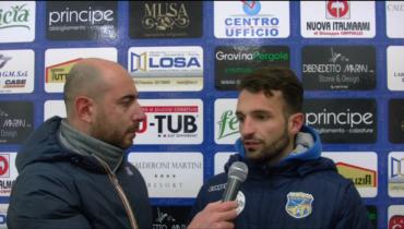 Intervista a Chiaradia post partita FBC Gravina – Agropoli