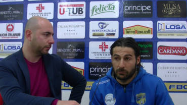 Intervista a Morga, post partita FBC Gravina- Vultur