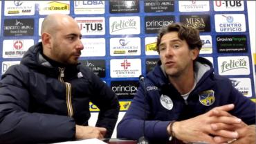 Intervista a mister Deleonardis post partita FBC Gravina- Gelbison Vallo