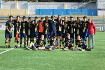 Buona domenica per il settore giovanile gialloblu: i Giovanissimi sono primi!