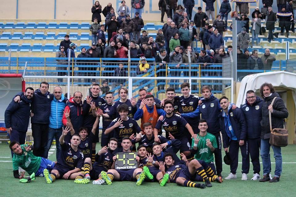 Juniores, la carica del Vicino per battere la capolista Taranto