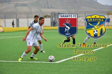 Taranto – FBC Gravina : info settore ospiti