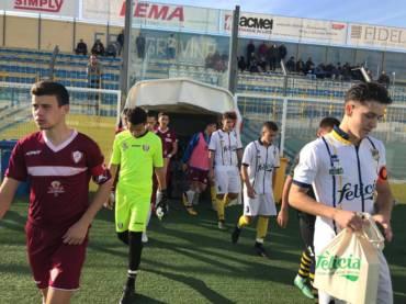 Juniores, contro il Locri vittoria di carattere: finisce 4-0