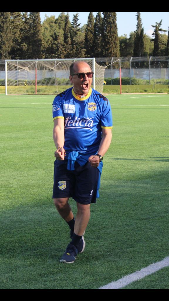 """Mister Lopraino saluta Gravina: """"Questa piazza per sempre nel mio cuore"""""""