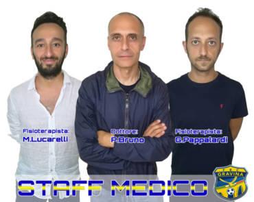 COMUNICATO STAMPA/ Staff medico invariato per la stagione sportiva 2019/2020