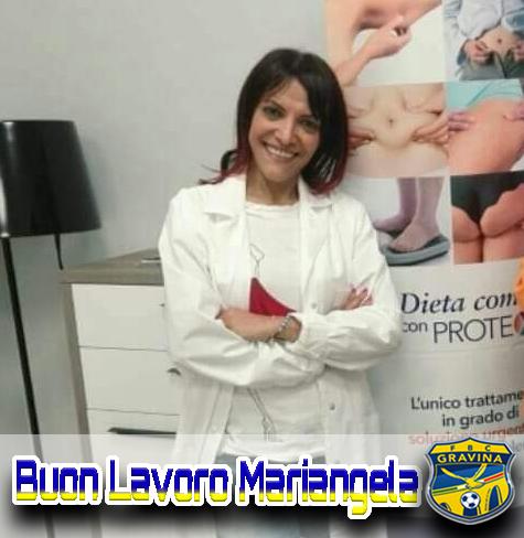 Torna in casa FBC Gravina la nutrizionista Mariangela Aquila