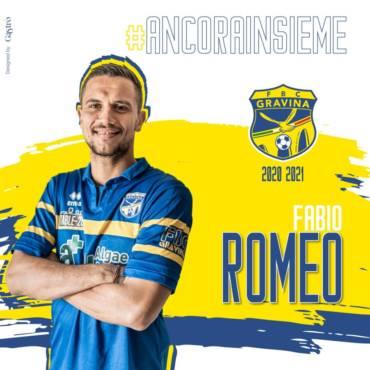 COMUNICATO STAMPA / Anche Romeo resta in casa FBC