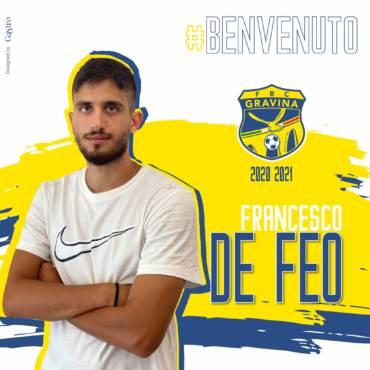 COMUNICATO STAMPA / Una mezzala tutta corsa per Deleonardis: benvenuto De Feo
