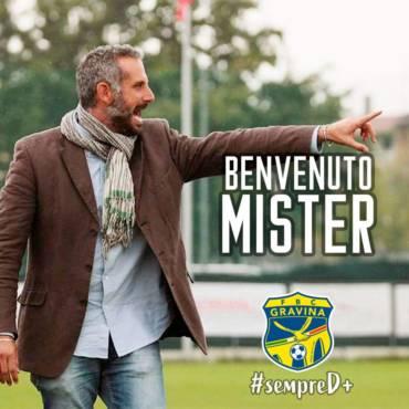 Marco Gaburro è il nuovo allenatore della FBC Gravina