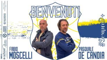 Comunicato stampa/ Moscelli nuovo responsabile area tecnica, per la panchina c'è mister De Candia