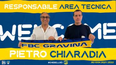 Pietro Chiaradia nuovo responsabile area tecnica della FBC Gravina