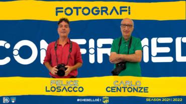Centonze e Losacco confermati fotografi ufficiali FBC