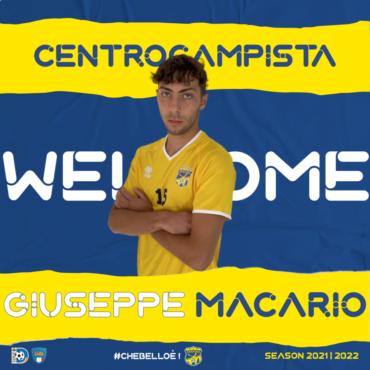 Giuseppe Macario è un nuovo calciatore della FBC Gravina