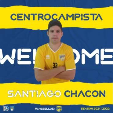 Santiago Chacón nuovo acquisto della FBC
