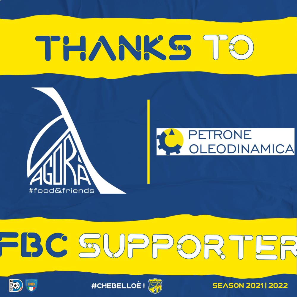 Petrone e Pellicciari nuovi soci sponsor della FBC